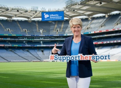 Balding was at Croke Park for the recent Liberty Insurance 'Wise Up' event.