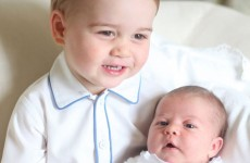 Palace releases first official photographs of Princess Charlotte