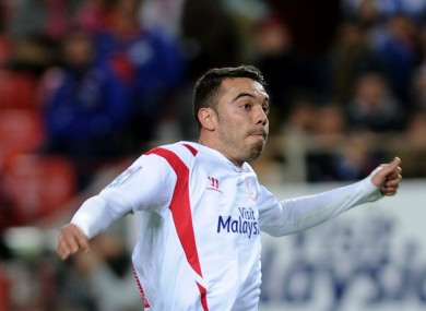 Spanish striker Iago Aspas failed to make an impact at Liverpool.