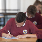 Trinity School Ballymun in Dublin. <span class=