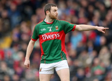 Higgins was handed the Mayo captaincy this year.