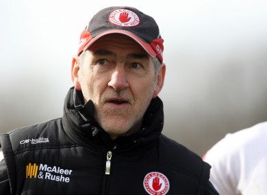 Will Mickey Harte and Tyrone feature in Monday's draw?