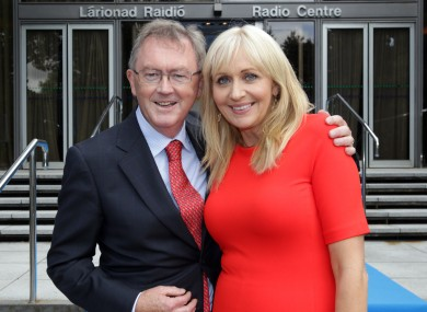 RTÉ Radio 1's Seán O'Rourke and Miriam O'Callaghan.