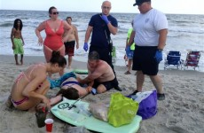 'Nightmarish' scene as two teens lose limbs in nearby shark attacks