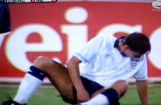 Gary Lineker recalls that embarrassing Italia '90 moment with the perfect emoji