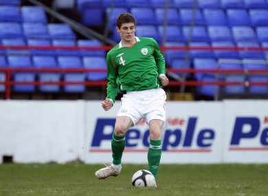 Kiernan is a former Ireland Under 21 captain.