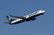 A Ryanair flight has diverted to Paris after a passenger was taken ill