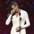 Caitlyn Jenner accepts the Arthur Ashe award for courage at the ESPY Awards at the Microsoft Theater on Wednesday, July 15, 2015, in Los Angeles. <span class=