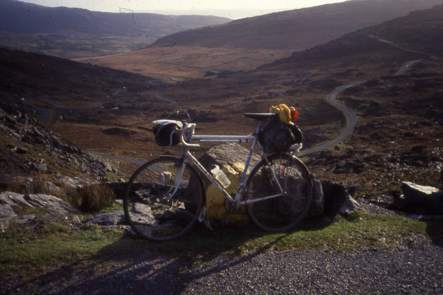 Healy Pass, South Side, Beara Peninsula .Co. Cork. 16 November 1991