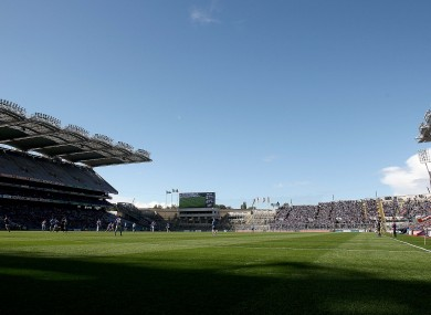 Croke Park takes centre stage this Sunday.