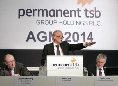 Permanent TSB chairman Alan Cook