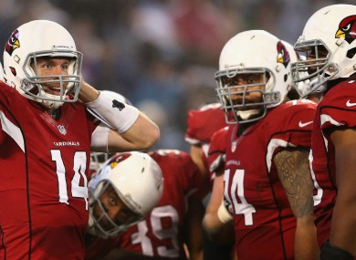 Arizona Cardinals had a disappointing end to their 2014/15 season.