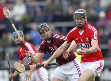 Cork's Mark Ellis and Galway's Aidan Harte will be in opposition next weekend.