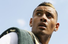 'Does it feel strong to be in the chair?' Nick Kyrgios went full McEnroe at Wimbledon today