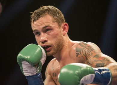 Frampton didn't have it all his own way in Texas last night.