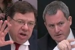 Watch a bullish Brian Cowen clash with this Fine Gael TD… loads