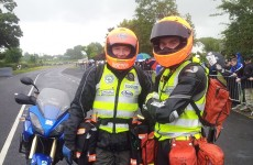 Bikers take to the road in tribute to motorcycle doctor John Hinds