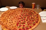 9 people who asked for the 'biggest pizza' and immediately regretted it