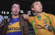 2 Irish lads were interviewed live on US TV in their GAA jerseys and it was gas