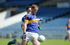 A key Tipperary midfielder will play no further part in championship 2015