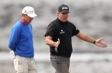 Padraig Harrington brought a 5-time major winner to his local golf club on Sunday