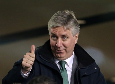 """John Delaney: """"This agreement is a very positive development for football in Munster."""