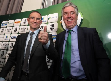 Delaney: All is not lost for Ireland on road to France 2016.