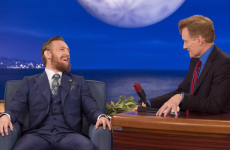 Sex, tattoos and Mayweather were on the agenda for Conan and Conor last night
