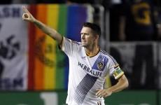 Robbie Keane nominated for prestigious American sports award