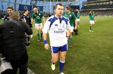 We now know who will referee Ireland's games at the Rugby World Cup