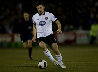 Pat Hoban, now 24, left Dundalk for Oxford United at the end of last season.