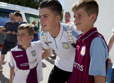 Grealish and Villa are currently in Portugal.