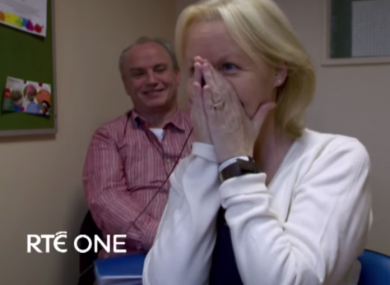 54-year-old Gemma Lawlor hears for the first time in 18 months in The Sound Barrier