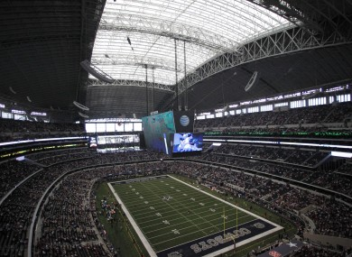 AT&T Stadium is the home of the Dallas Cowboys.