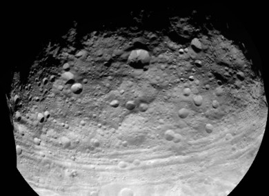 File photo of an asteroid