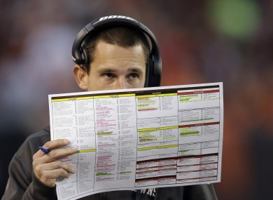 Soon you could know as much as Cleveland Browns offensive coordinator Kyle Shanahan.