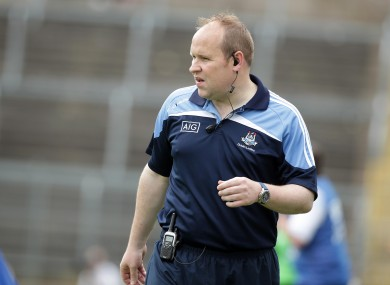 Gregory McGonigle's Dublin take on Armagh on Saturday.