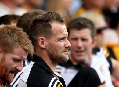Tyrrell had to watch from the stands as Kilkenny booked their passage to another All-Ireland final.