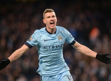Dzeko has played his final game for the club.