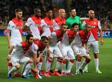 Monaco reached the last eight of the competition last season.