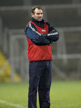 Steven McDonnell watches on during this year's Ulster U21 football semi-final.