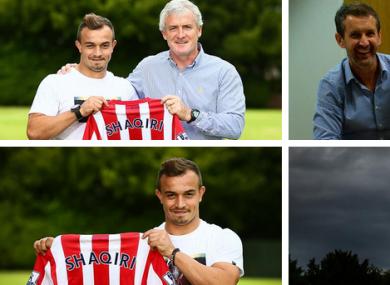 Xherdan Shaqiri officially joined Stoke today.