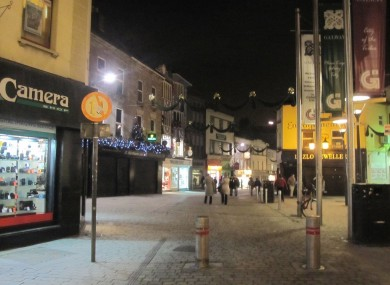 Gardai are appealing for witnesses to last night's assault.