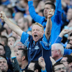 A Dublin fan knew they were over the line.<span class=