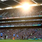 Croke Park was looking stunning under the sun on Saturday evening.<span class=