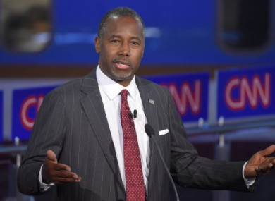 Ben Carson has seen his support rise in recent polls.