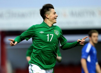 Grealish represented Ireland up to U21 level but has taken a break from international football.