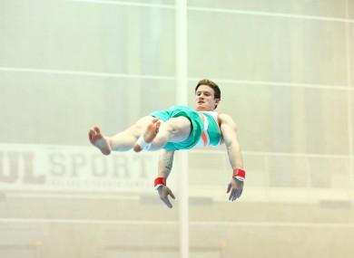 Irish Olympian Kieran Behan.