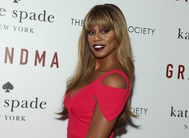 'Orange is the New Black' actor and transgender person Laverne Cox