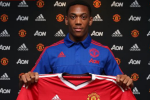 Manchester United make Anthony Martial the most expensive teenager in world football